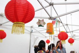 Red Nylon Lanterns