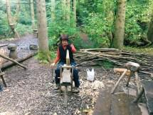 Ricefield Volunteer Wood Work