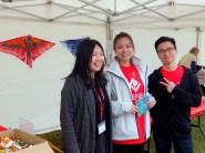 Volunteers at Kite Exhibiton