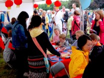 Craft activities at Glasgow Kite Festival