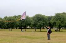 Kite flying in Bellahouston Park