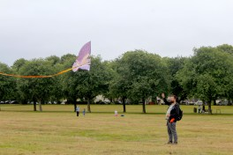 Kite flying in Bellahouston Park