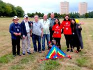 Ricefield Team with the Kite Club of Scotland
