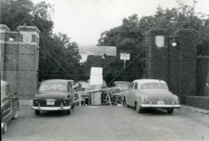 King Hill blockade 1957