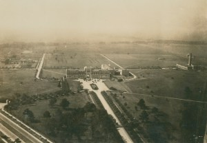 Aerial west view 1920