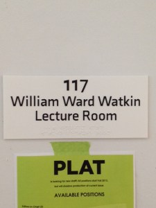WWW lecture room