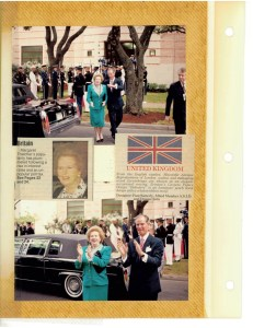 Mrs Thatcher Stearman Scrapbook