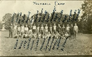McVey 3 Football Camp mid20s