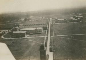 Aerial 1921 towards Main Street