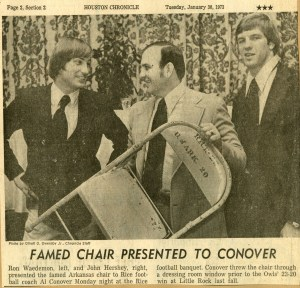Conover chair 1973