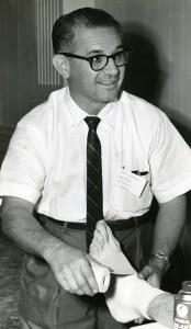 Eddie Wojecki ankle