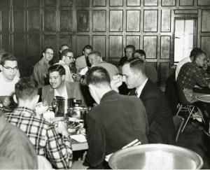 Dinner in Baker Commons 1958 2