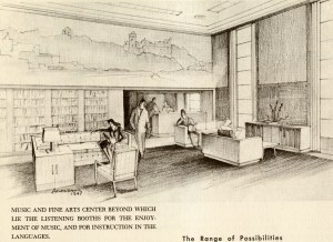 Ralph Anderson Fondren drawing 1