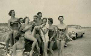 Swimsuits April 1955