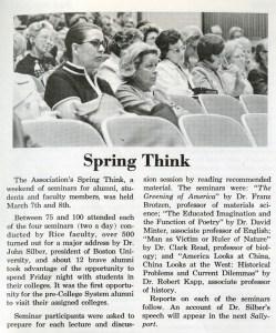 Spring Think 2 April 1971
