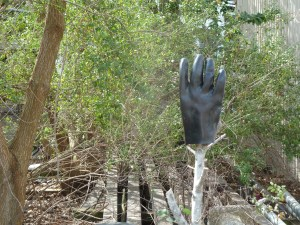 Glove on stick 2014