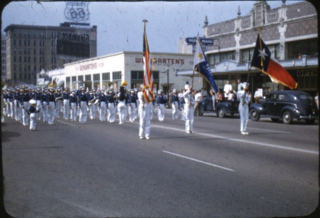 Parade Homecoming 1950 1