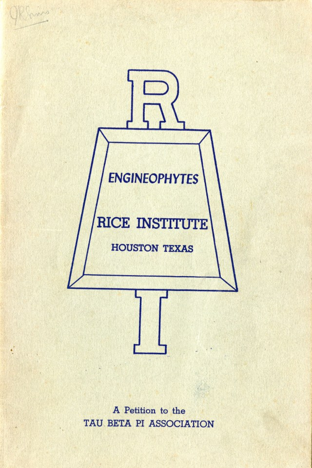 Engineophyte cover 1940