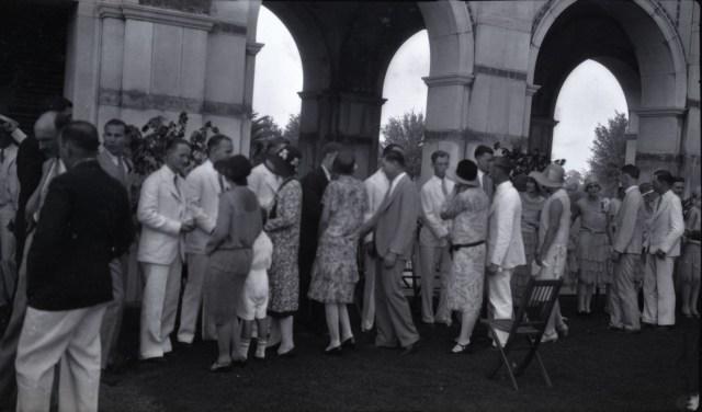 Garden party 1930 commencement 3