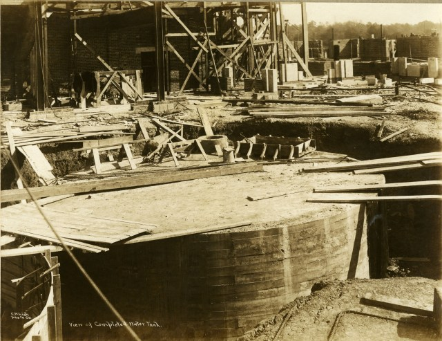 Water tank completed December 1 1911 EOL papers 11