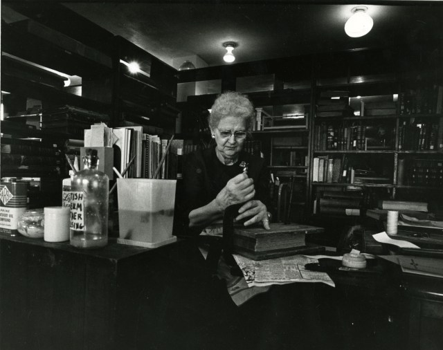 Sarah Lane book binding 1966