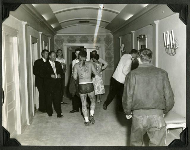 Slime in hotel 1950s
