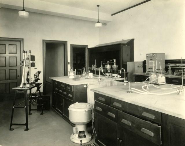 New Chem Harry Weiser lab colloids