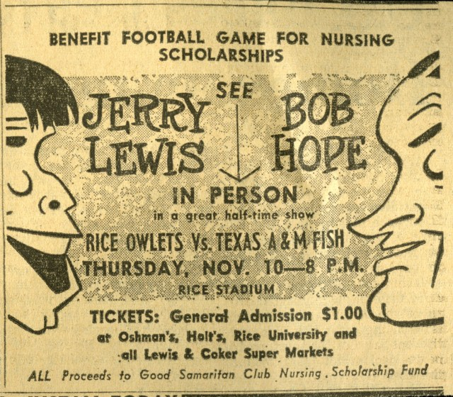 New Bob Hope Jerry Lewis 1960 clipping