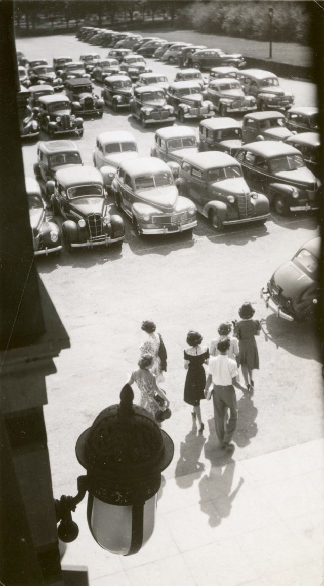 New Noon admin parking lot Neil Brennan 1941