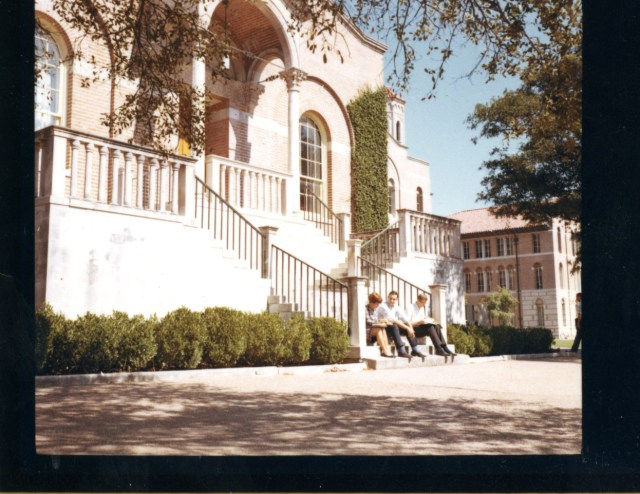 Chem lecture hall front october 17 1966