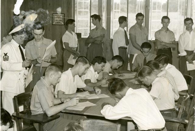 Inside Navy Building September 1941 004