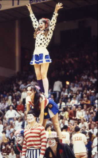 Clown night Rice UT basketball 1979 4 UA155 170 4 062