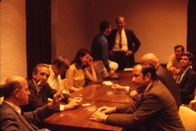Big meeting nd 70s slide collection