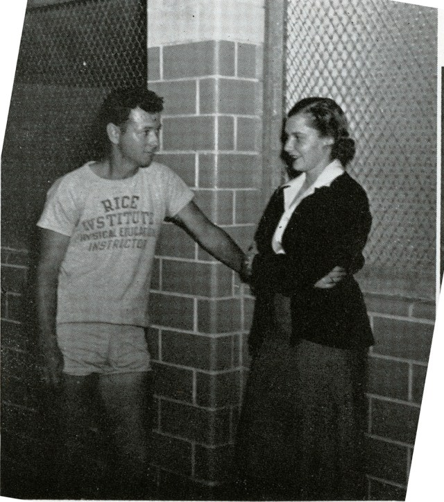 Women's athletics Hallie Beth 1951