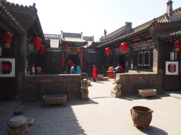 The main inner courtyard.