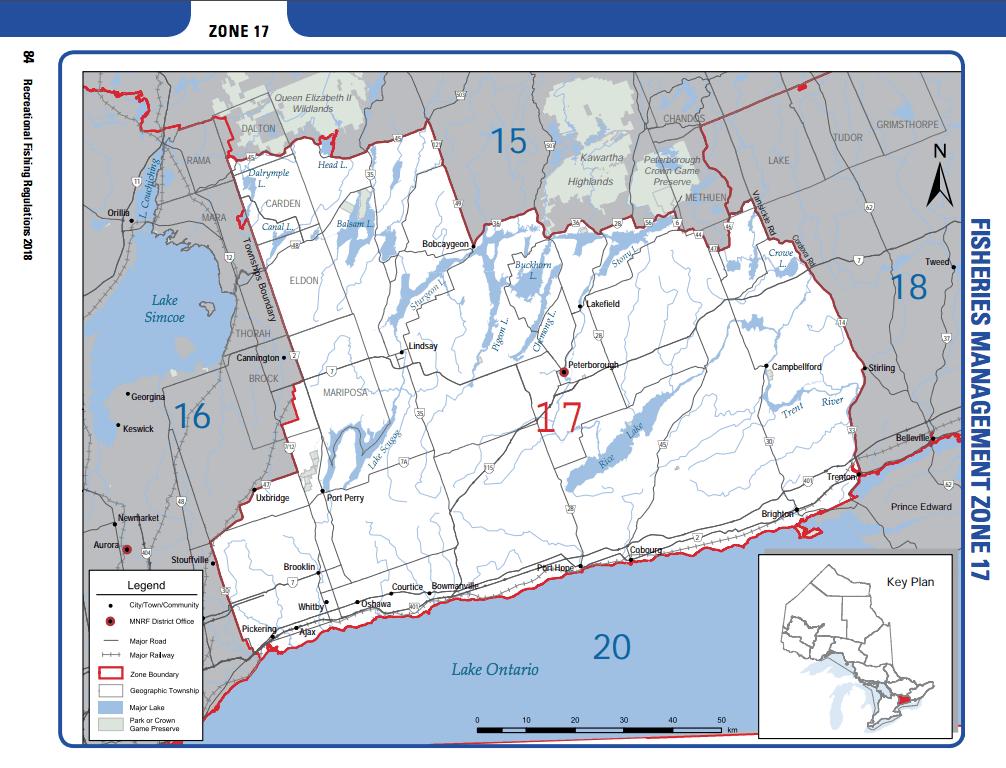 2018 Ontario Fishing Regulations Summary