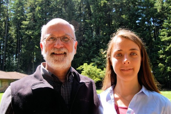 Julian Gray - Executive Director - and Leslie Moclock - Curator - Rice Northwest Rock and Mineral Museum.