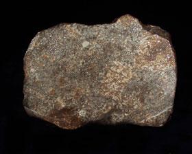 Rice Northwest Rock and Mineral Museum Meteorite Exhibit Display - meteorite 2.