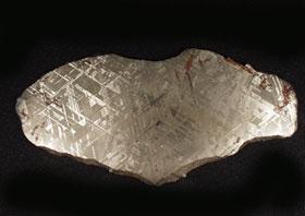 Rice Northwest Rock and Mineral Museum Meteorite Exhibit Display - meteorite4.