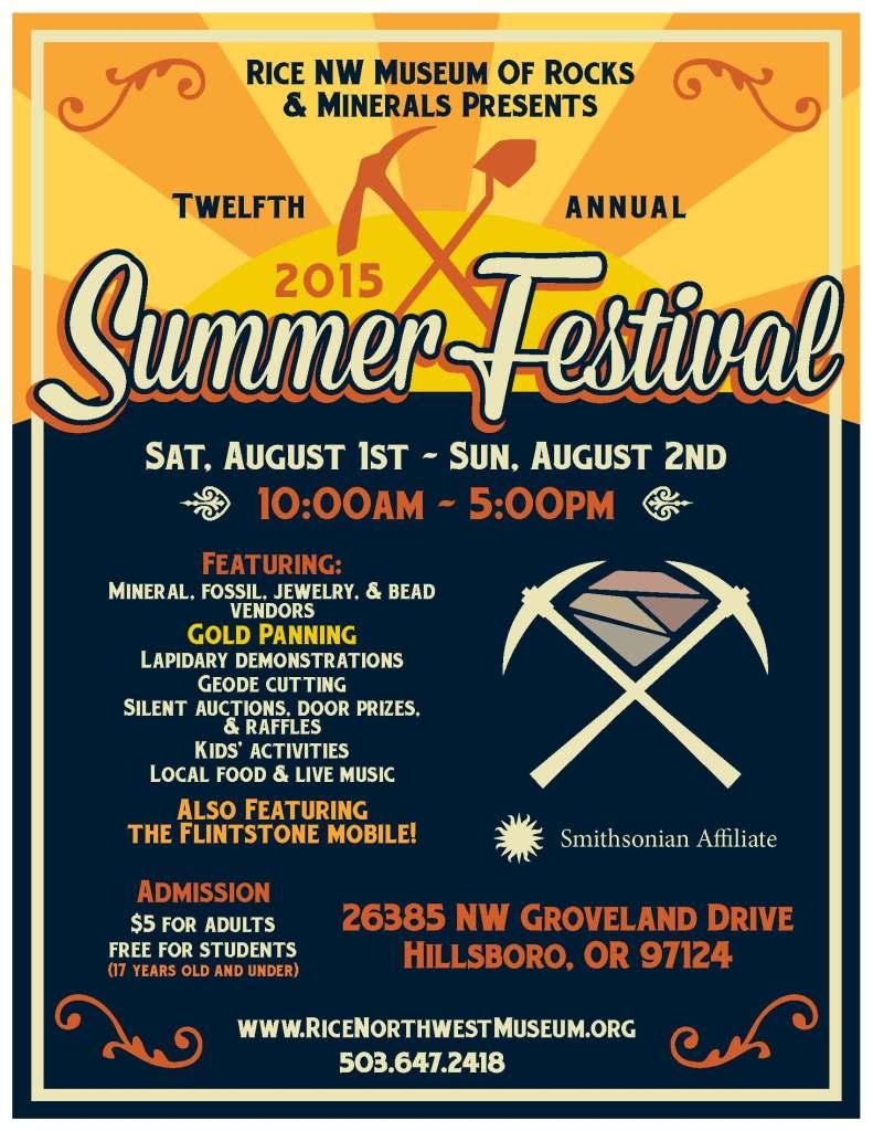 2015 Summer Fest Flier