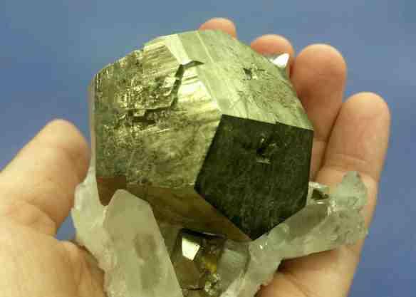 Pyrite - Pentagonal Dodecahedron