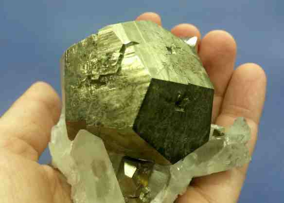 Pyrite - Pentagonal Dodecahedron