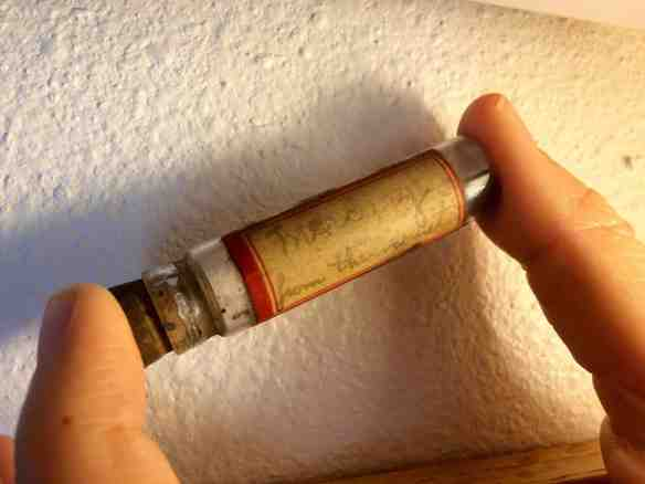 Mercury in vial