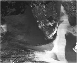 Remote sensing - Mappa termica ottenuta dalla sonda HCMM