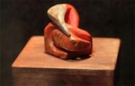 Myrickite - Our Futures are Interwined - Carving - Rice Northwest Museum Myrickite Exhibit.