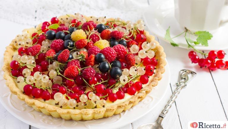 Ricetta Crostata di frutta con il Bimby  Consigli e