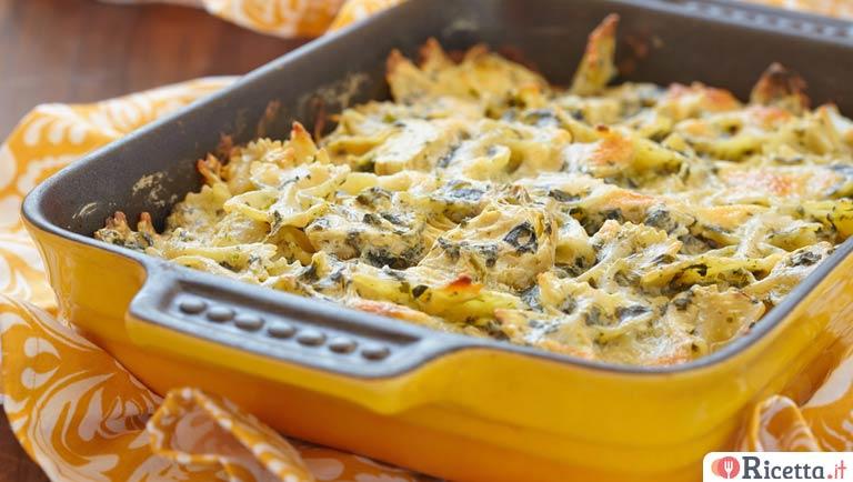 Pasta Al Forno Con Scamorza Zucchine E Speck