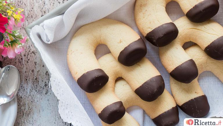 Ricetta Biscotti ferro di cavallo  Consigli e Ingredienti