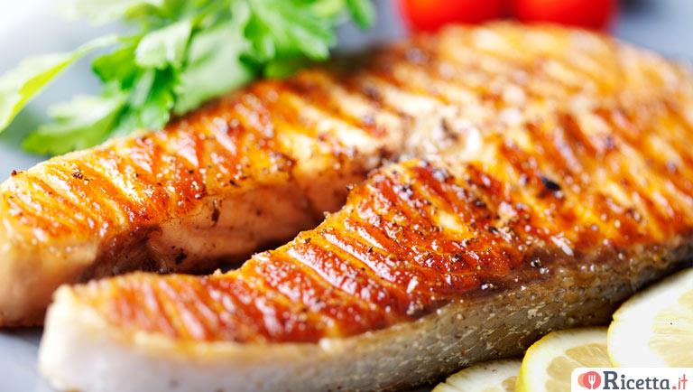 Ricetta Salmone alla griglia  Consigli e Ingredienti  Ricettait