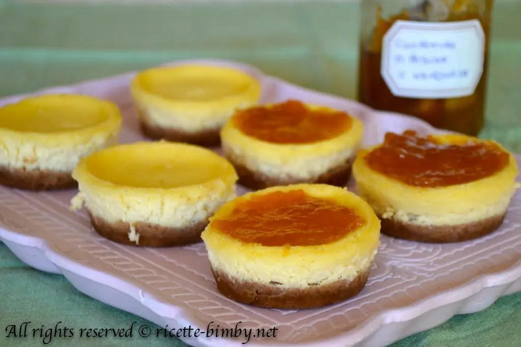 Cheesecake monoporzione Bimby  Ricette Bimby